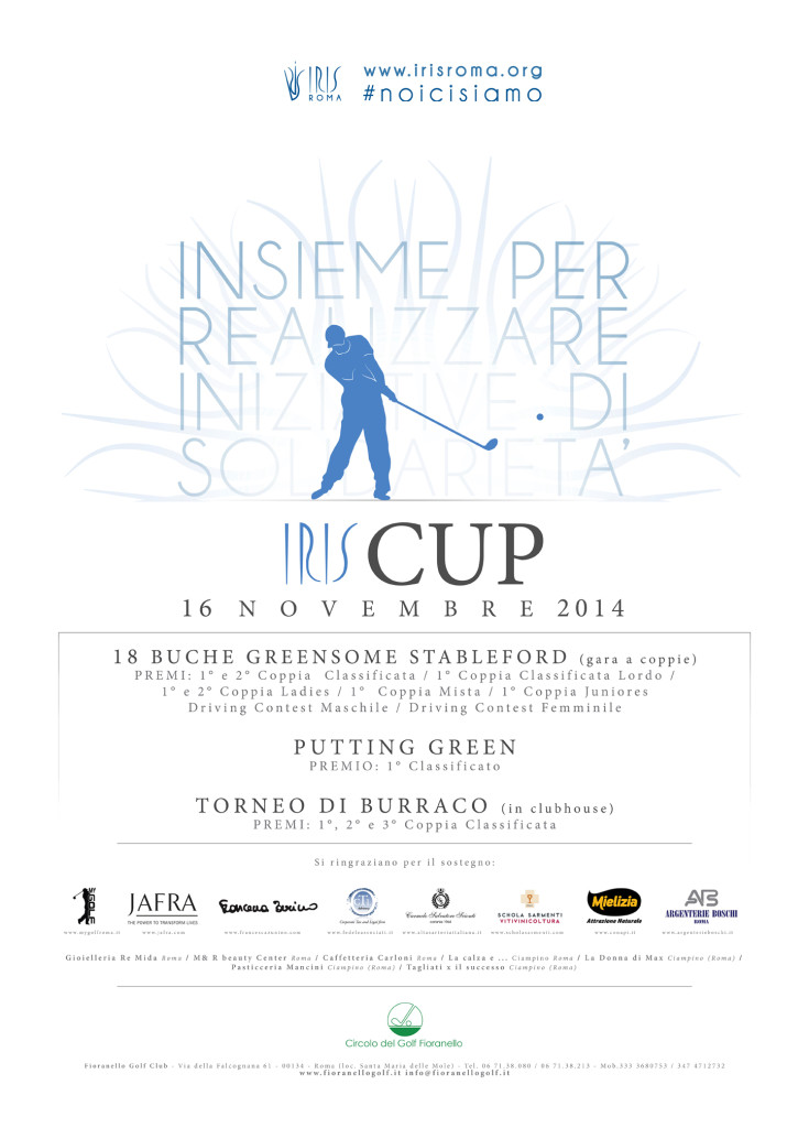 IRIS ROMA - Golf for Cure