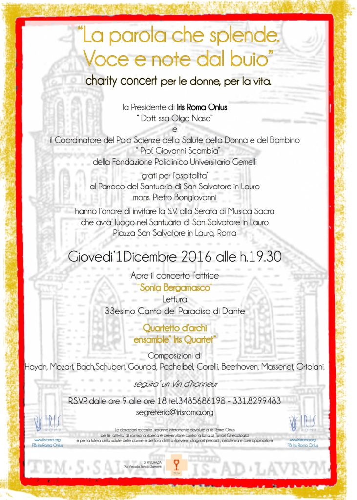 Charity Winter Concert 2016